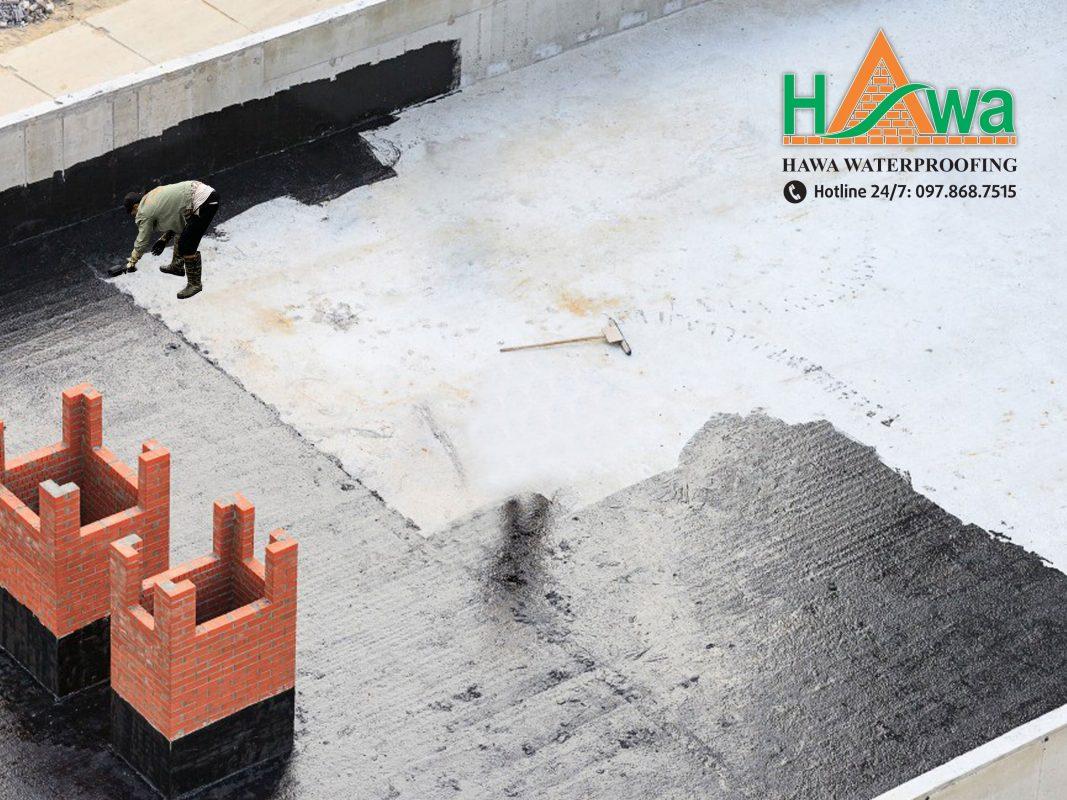 dịch vụ thi công chống thấm sàn mái