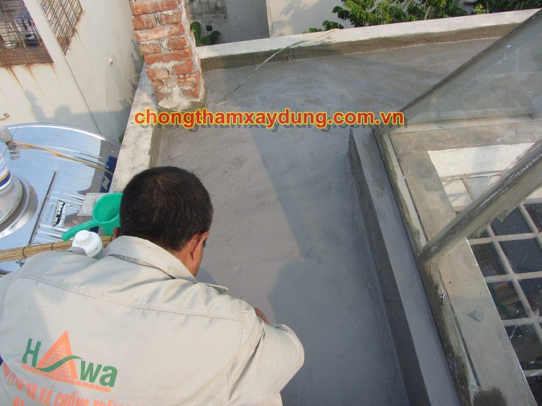 thi công chống thấm mặt cầu sử dụng chất chống thấm Dịch Hồng Hawa