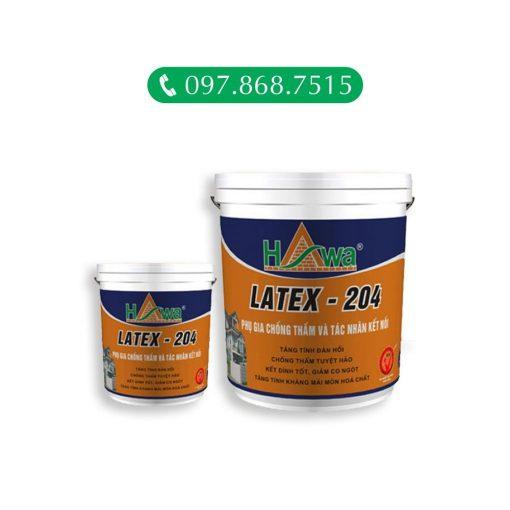 Hawa latex 204 - phụ gia chống thấm và tác nhân kết nối
