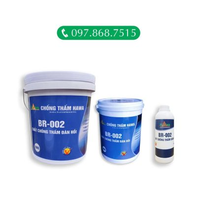chất chống thấm đàn hồi BR002