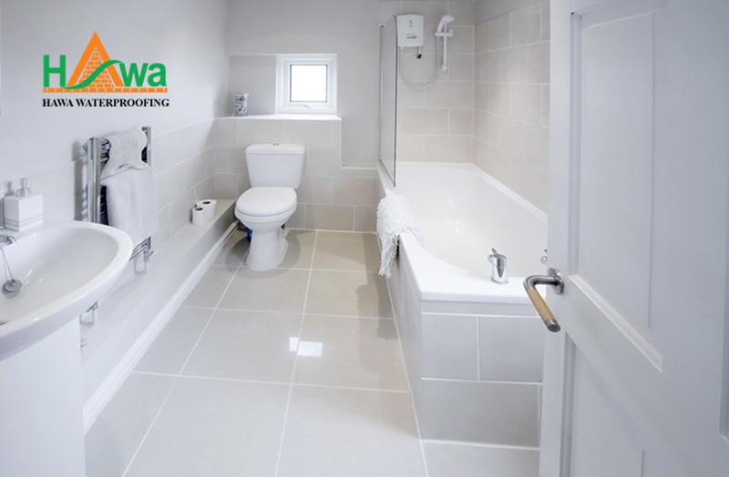 chống thấm bồn tắm