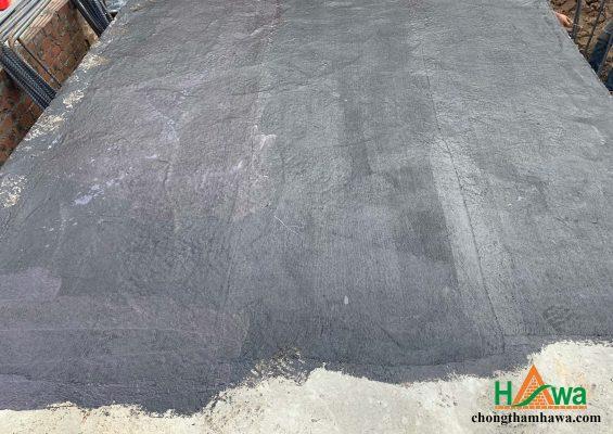 thi công đáy móng sử dụng chất chống thấm đàn hồi BR-002