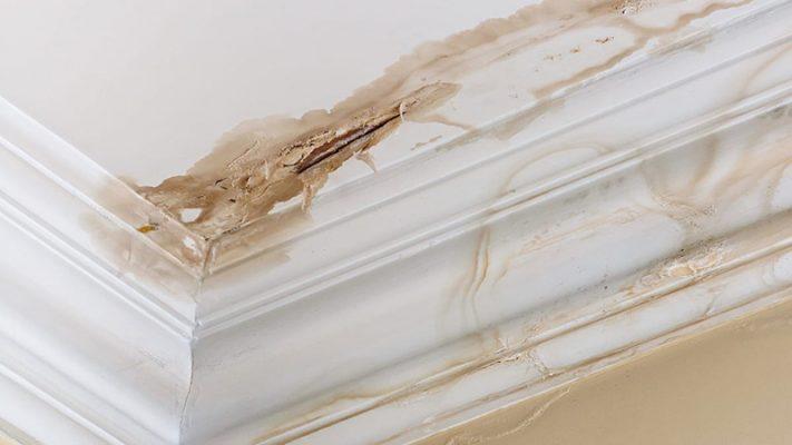 Cần thi công chống thấm trần nhà