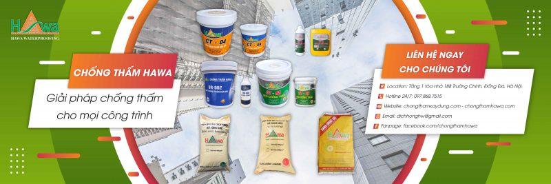 các sản phẩm chống thấm