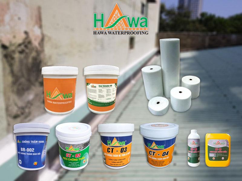 sản phẩm chống thấm