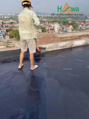 thi công chống thấm sàn mái dùng chất chống thấm đàn hồi BR-002